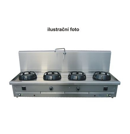 Plynový sporák modul CC/04.BB 2000 x 700 mm