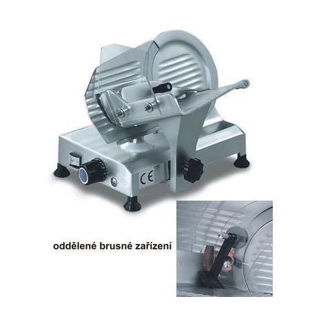 Nářezový stroj gravitační TOPAZ 250