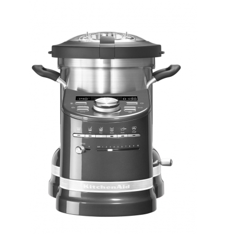 KitchenAid Varný robot Artisan - 5KCF0103EMS - stříbřitě šedá