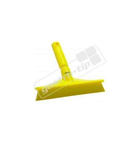 Stěrka ruční Vikan s jednoduchým břitem - žlutá