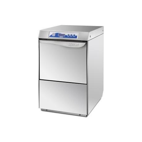 Dvouplášťová myčka nádobí PREMIUM 50 s automatickým změkčovačem a odpadovým čerpadlem, 400 V