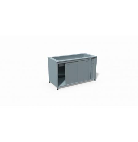 T03 Ohřívací stůl režon s vyhřívanou vodní lázní pro 3 GN 1/1 1200 x 700 x 900 mm