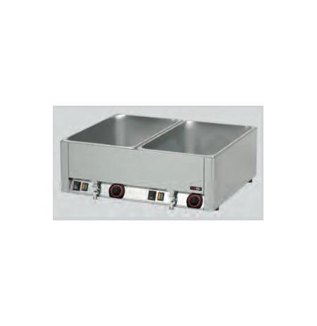 Vodní lázeň s výpustí 2x GN 1/1 BMV 2115 RedFox