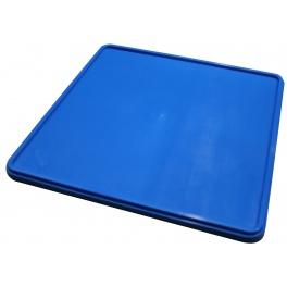 Plastové víko koše modré C 1200 RedFox