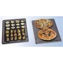Deska grilovací oboustranná pizza GN 2/3