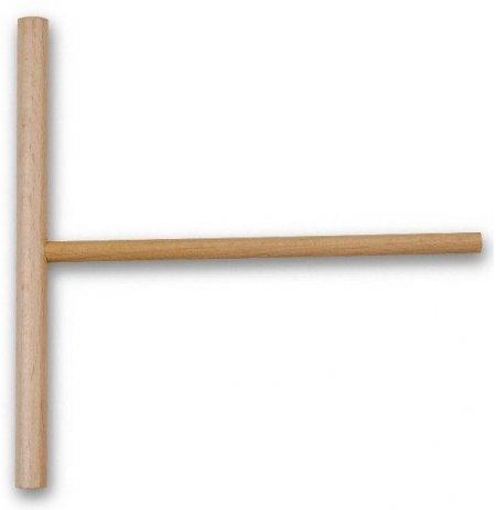 Roztírač těsta kulatý šíře 18 cm, bukový