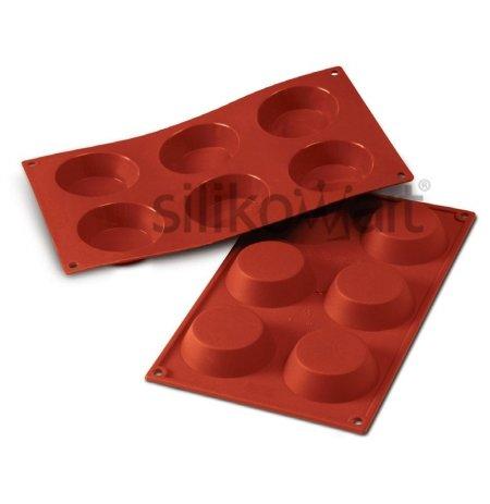 Forma silikonová skup.6x Tartelettes
