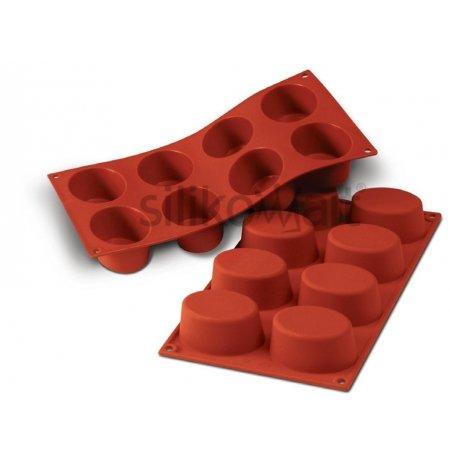 Forma silikonová skup.8x velký Ovál