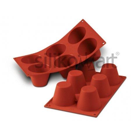 Forma silikonová skup.6x velký Mufin