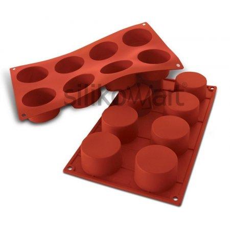 Forma silikonová skup.8x Cylinders