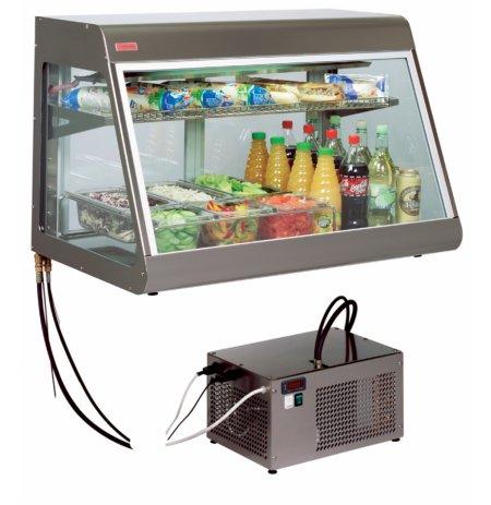 Vitrína stolní chladící samoobslužná BigHorn Remote 100, izolační dvojsklo, agregát mimo