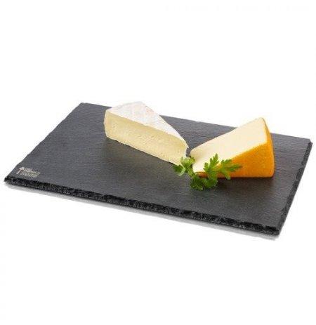 Deska břidlicová černá na sýry L, 330x230x8 mm BOSKA