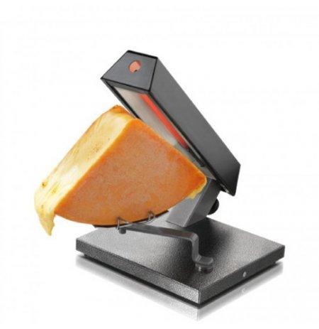Raclette party gril Quatro na 1/4 bochníku sýra