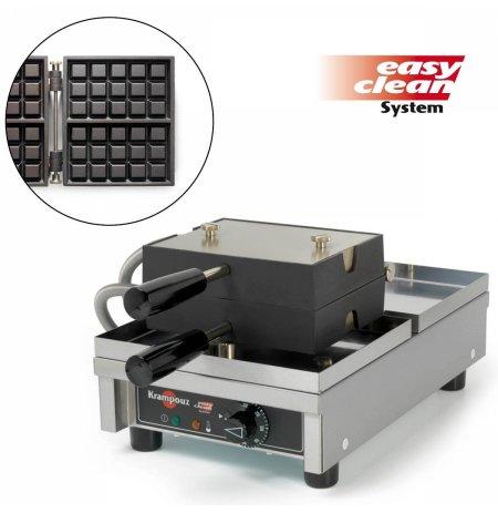 Vaflovač jednoduchý elektrický, Brusel 3x5, sklopný 180°, madlo I, EasyClean, KRAMPOUZ