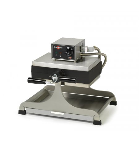 Vaflovač elektrický KRAMPOUZ, Lutych 4x13, otočný 360°, madlo L, EasyClean
