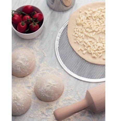 Plato na pizzu pečící hliníkové, průměr 40 cm