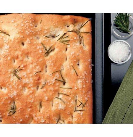 Plech na pizzu ocelový 60x40 cm