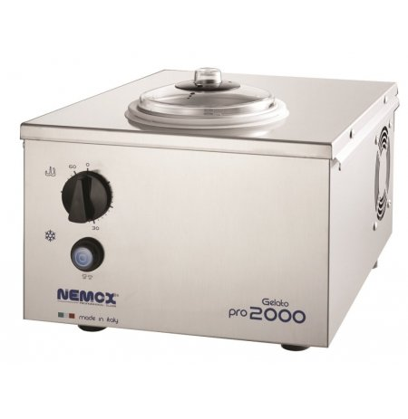 Výrobník zmrzliny GELATO PRO 2000, nerez