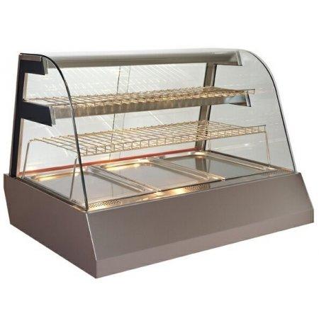 Vitrína stolní teplá Kentucky HOT HIGH 4GN1/1, vysoká
