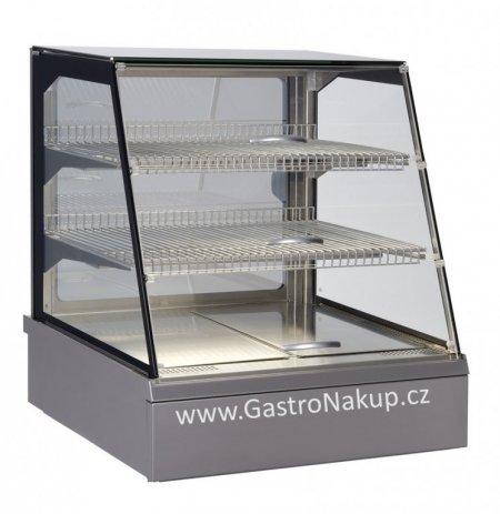 Vitrína teplá Adda HOT 2x GN1/1, samoobslužná, stolní, zápustná