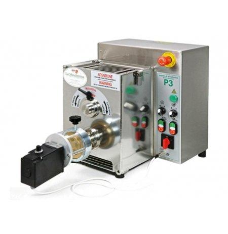 Výrobník tlačených těstovin elektrický P3 s hnětačem 3kg včetně 4 matric, 400V