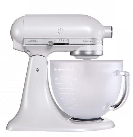 Robot kuchyňský KitchenAid Artisan 5KSM156 matně perlová 4,83 ltr.skleněná nádoba