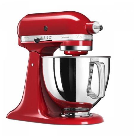 Robot kuchyňský KitchenAid Artisan KSM125 královská červená 4,83 ltr.nerez.nádoba