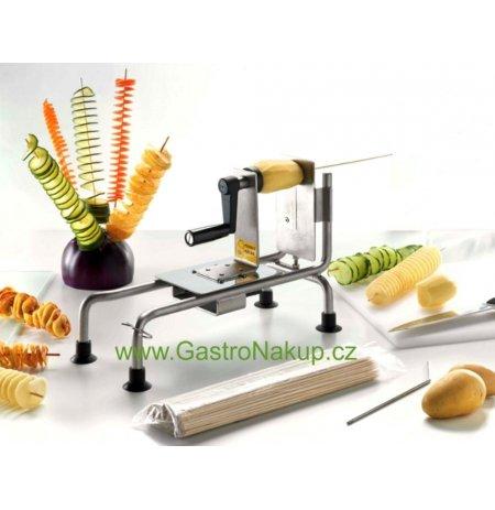 Spirálový kráječ zeleniny a brambor na špejli, profi