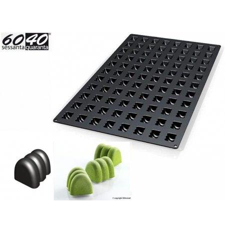 Forma silikonová 60x40 skupinová 88x Mini Twist