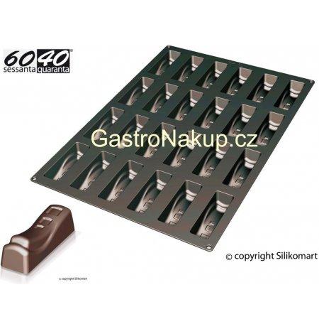 Forma silikonová 60x40 skupinová 24x Delice