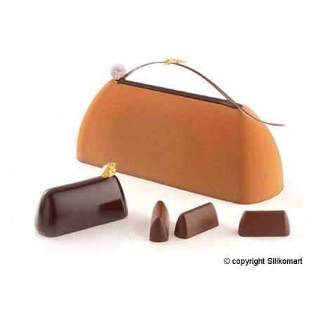 Forma TortaFlex GIANDUIA na 3ks dortů 250x80x90mm, sada vč.plata 30x40cm