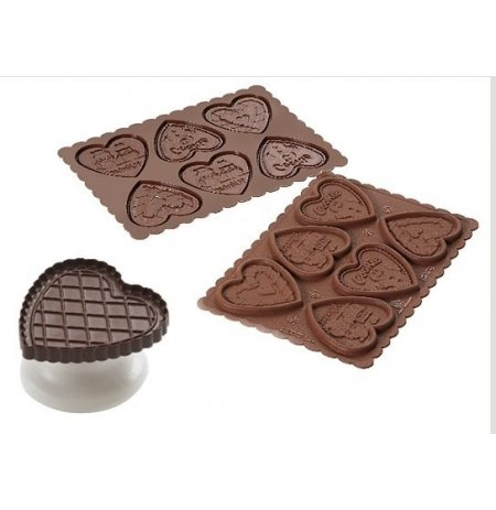 Sada na výrobu lepených sušenek Srdce Cookie