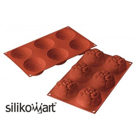 Forma silikonová skup.6x Camelie