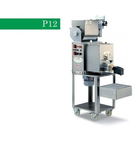 Výrobník tlačených těstovin elektrický s hnětačem P12, včetně 4 matric, 400V