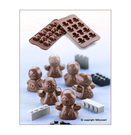 Forma na čokoládu silikonová EasyChoc 12x Mood