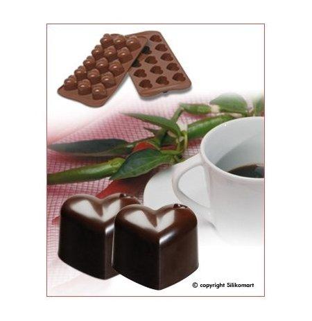 Forma na čokoládu silikonová EasyChoc 15x Monamour