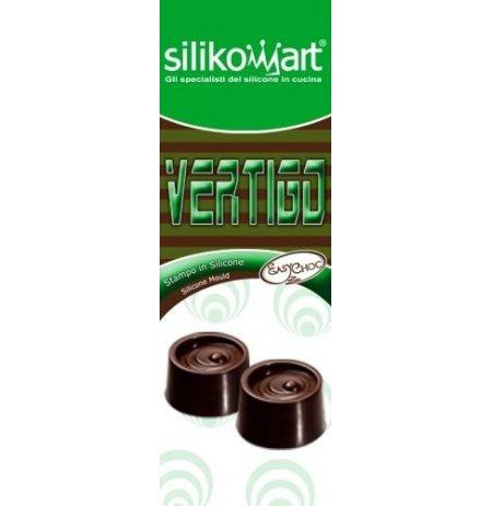 Forma na čokoládu silikonová EasyChoc 15x Vertigo
