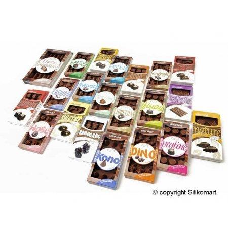 Forma na čokoládu silikonová EasyChoc 14x Jack