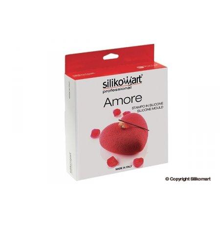 Forma silikonová uniflex 3D Srdce Amore