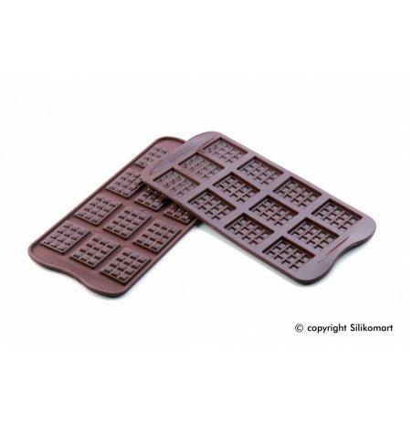 Forma na čokoládu silikonová EasyChoc 12x TABLETTE