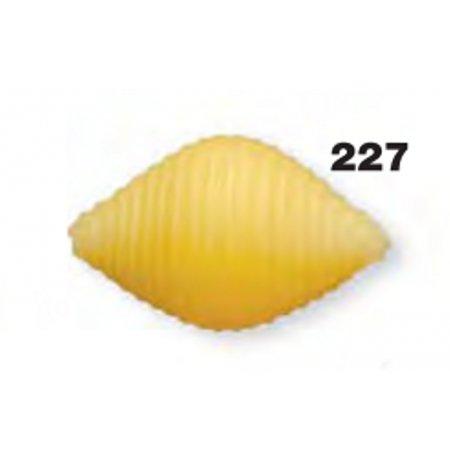 Matrice bronzová 227 Conchiglie rigate 30 mm pro P3