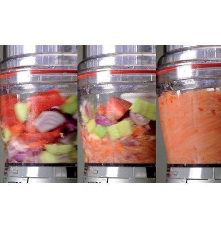Kutr stolní food processor KFP1644 královská červená, 4 litry