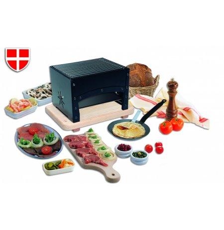 Gril party barbecue REB02, včetně pánve a špachtle