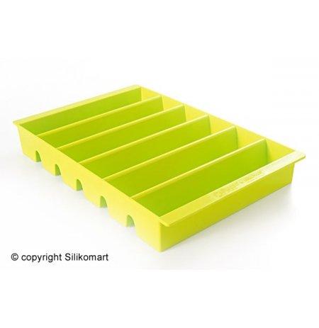 Plato prezentační na nanuky ESPOGEL DOWN Zelené, kapacita 24 ks