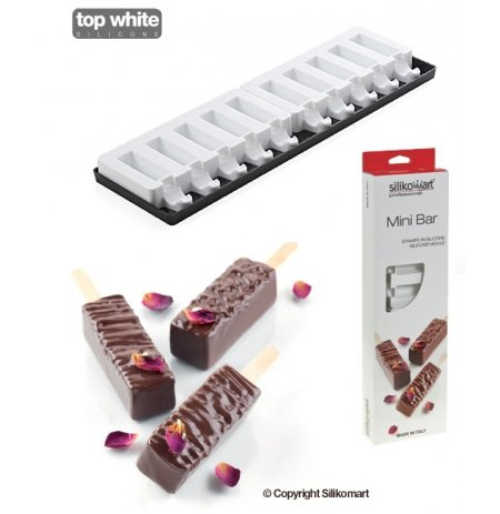 Forma silikonová finger food Mini Bar 60x20x20mm, sada 4 ks