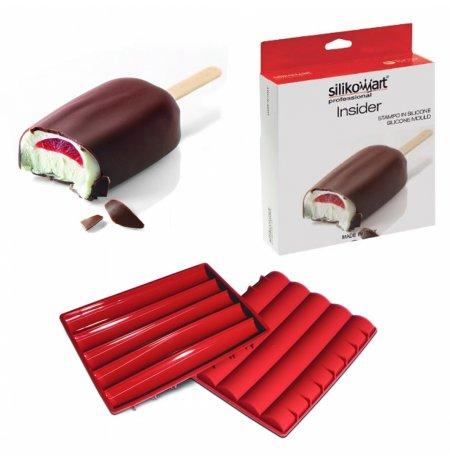 Forma silikonová k tvorbě náplní a insertů 200x157x13mm