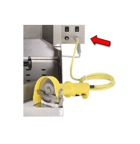 Gril na gyros plynový Poly Gas 4 včetně elektrického nože Gyronal