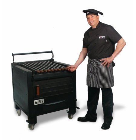 Gril zahradní litinový profi BBQ M80 na dřevěné uhlí Pira