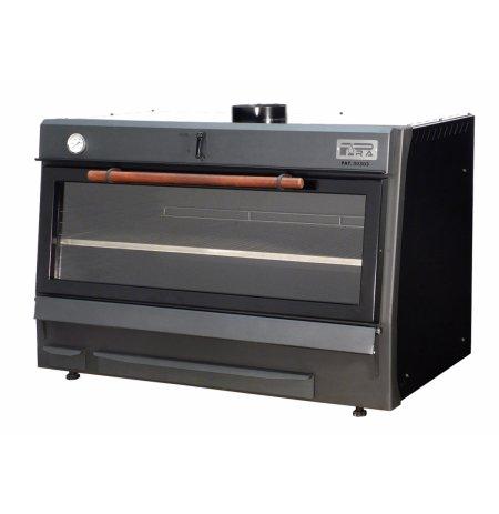 Pec na dřevěné uhlí PIRA 120 LUX Černá