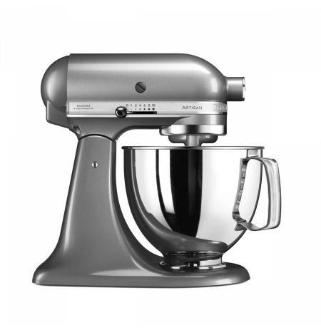 Robot kuchyňský KitchenAid Artisan KSM125 stříbrná 4,83 ltr.nerez.nádoba